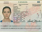 Passport copy sample